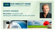 New Mobility Forum 2012 - Keynote Speaker Murat Günak (Deutsche Version)