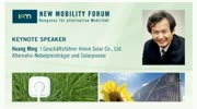 New Mobility Forum 2012 - Keynote Speaker Huang Ming (Deutsche Version)