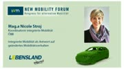 New Mobility Forum 2012 - Mag.a Nicole Stroj - (Englische Version)