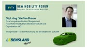 New Mobility Forum 2012 - Dipl.-Ing. Steffen Braun (Englische Version)