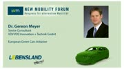 New Mobility Forum 2012 - Dr. Gereon Meyer