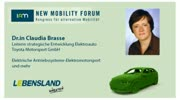 New Mobility Forum 2012 - Dr.in Claudia Brasse (Englische Version)