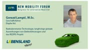 New Mobility Forum 2012 - Gorazd Lampic, M.Sc. (Deutsche Version)