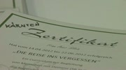 Zertifikatsverleihung fr ehrenamtliche Demenzbegleiter